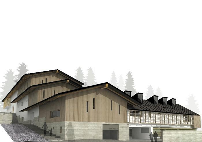 Centro Polifunzionale a Sappada | 2011