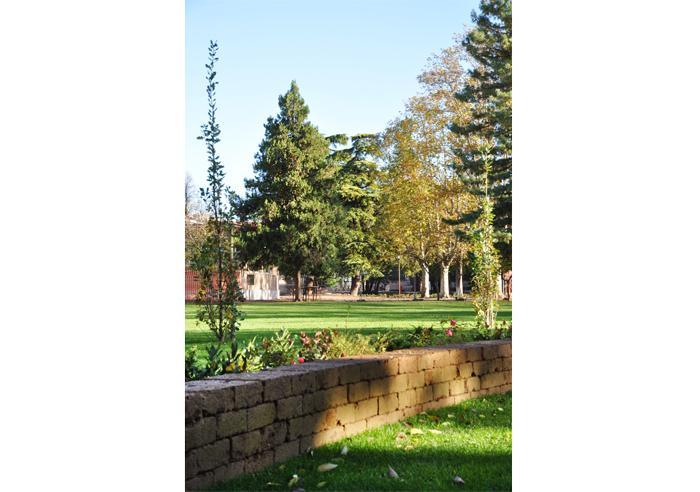 """Riqualificazione Parco Educandato """"Agli Angeli""""   2013"""